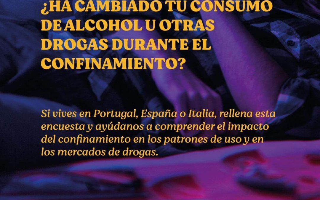 Consumo de drogas durante el confinamiento por COVID-19 en los países del sur de Europa